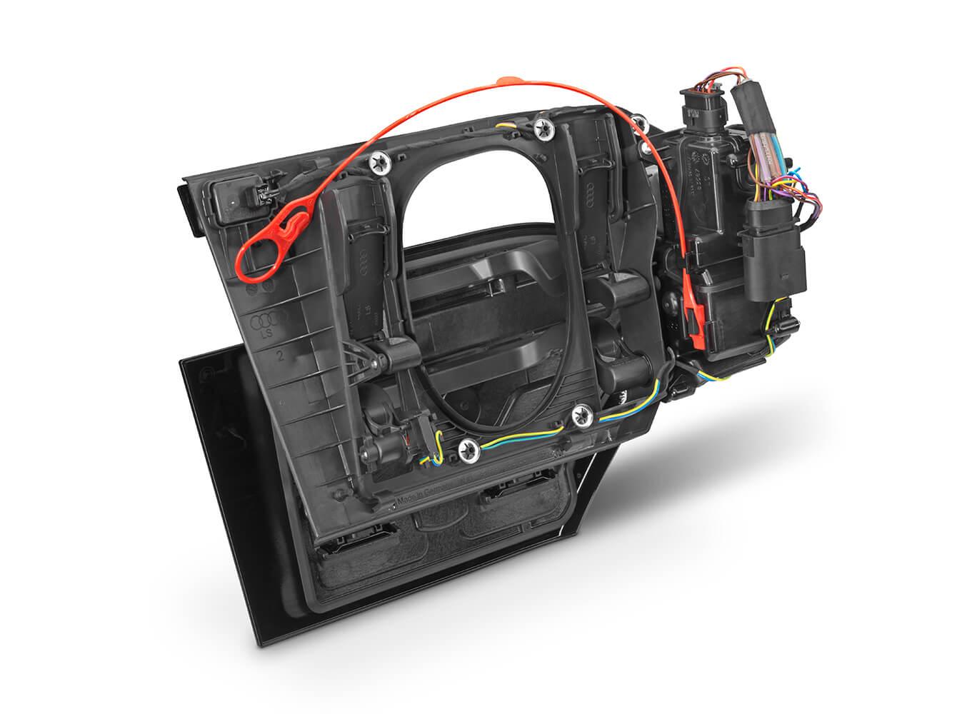 Elektrische Ladeklappe (Rückseite)